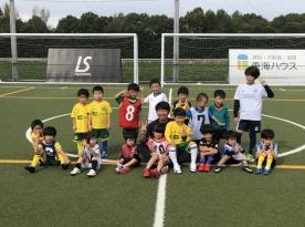 チャイルドサッカー教室・クラッキプログラムU-8を開催しました。