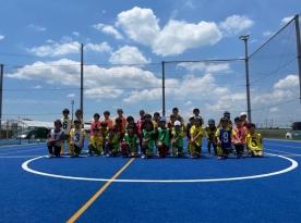 ブリンカールサッカースクール交流戦B2(小学1・2年生)
